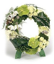 Rose & Orchid Wreath.