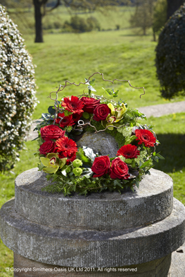 Wreath Red and Green