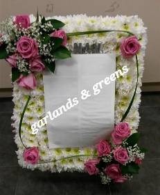 Photo Frame wreath
